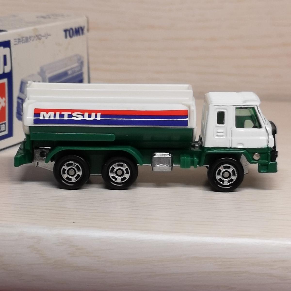 特注トミカ 三井石油 タンクローリー 日産ディーゼル レゾナ トラック_画像4