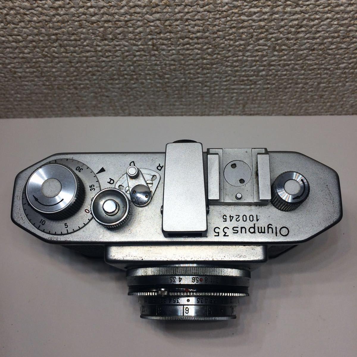 オリンパス OLYMPUS 35 コパル COPAL レンズ Zuiko F.C. 1:3.5 f=4cm ケース付 860681 mn0408_画像3