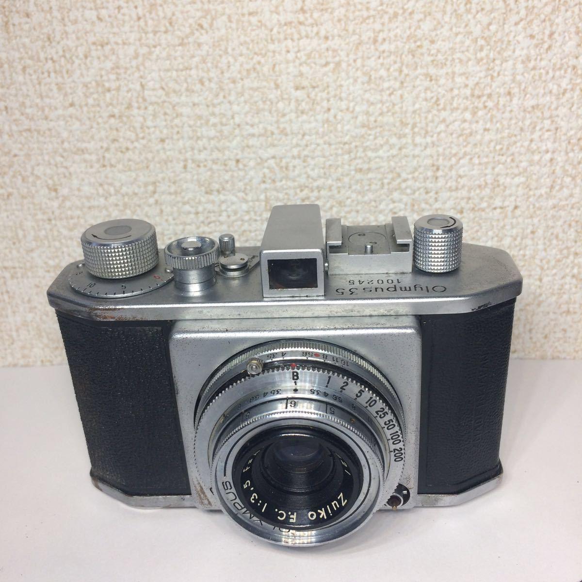 オリンパス OLYMPUS 35 コパル COPAL レンズ Zuiko F.C. 1:3.5 f=4cm ケース付 860681 mn0408_画像2