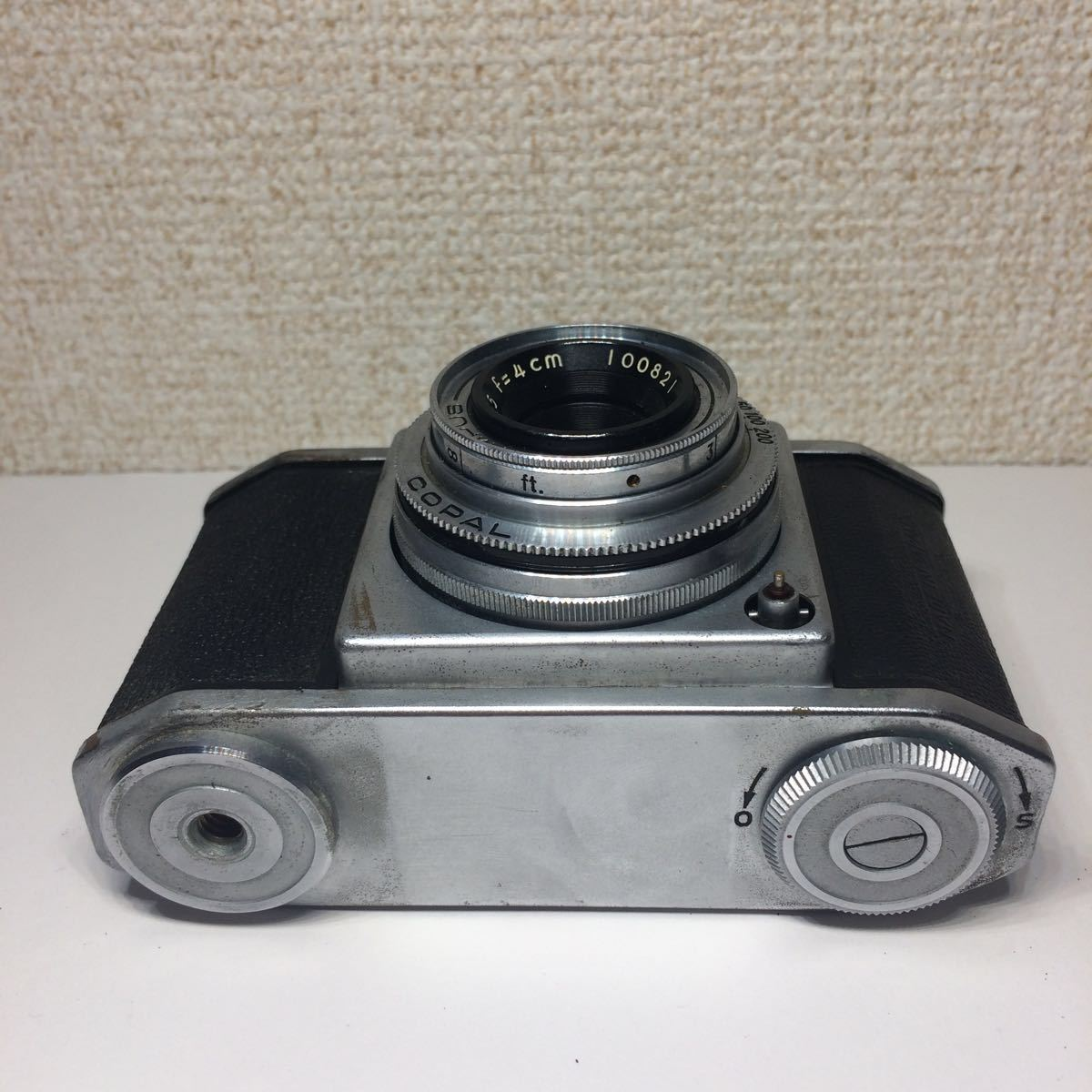 オリンパス OLYMPUS 35 コパル COPAL レンズ Zuiko F.C. 1:3.5 f=4cm ケース付 860681 mn0408_画像5