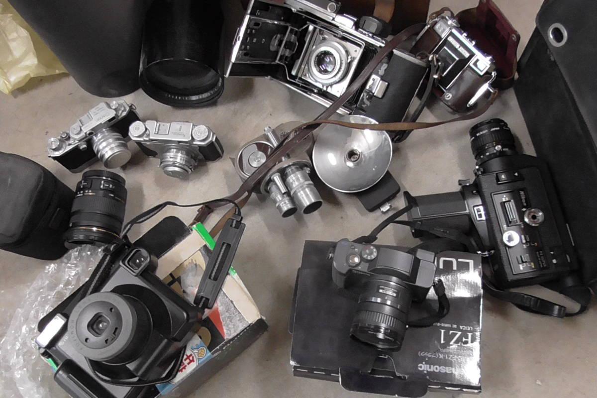 カメラ・レンズ・双眼鏡等大量ジャンク出品です。_画像3