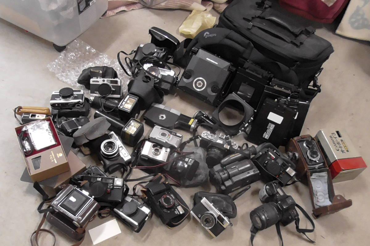 カメラ・レンズ・双眼鏡等大量ジャンク出品です。_画像5