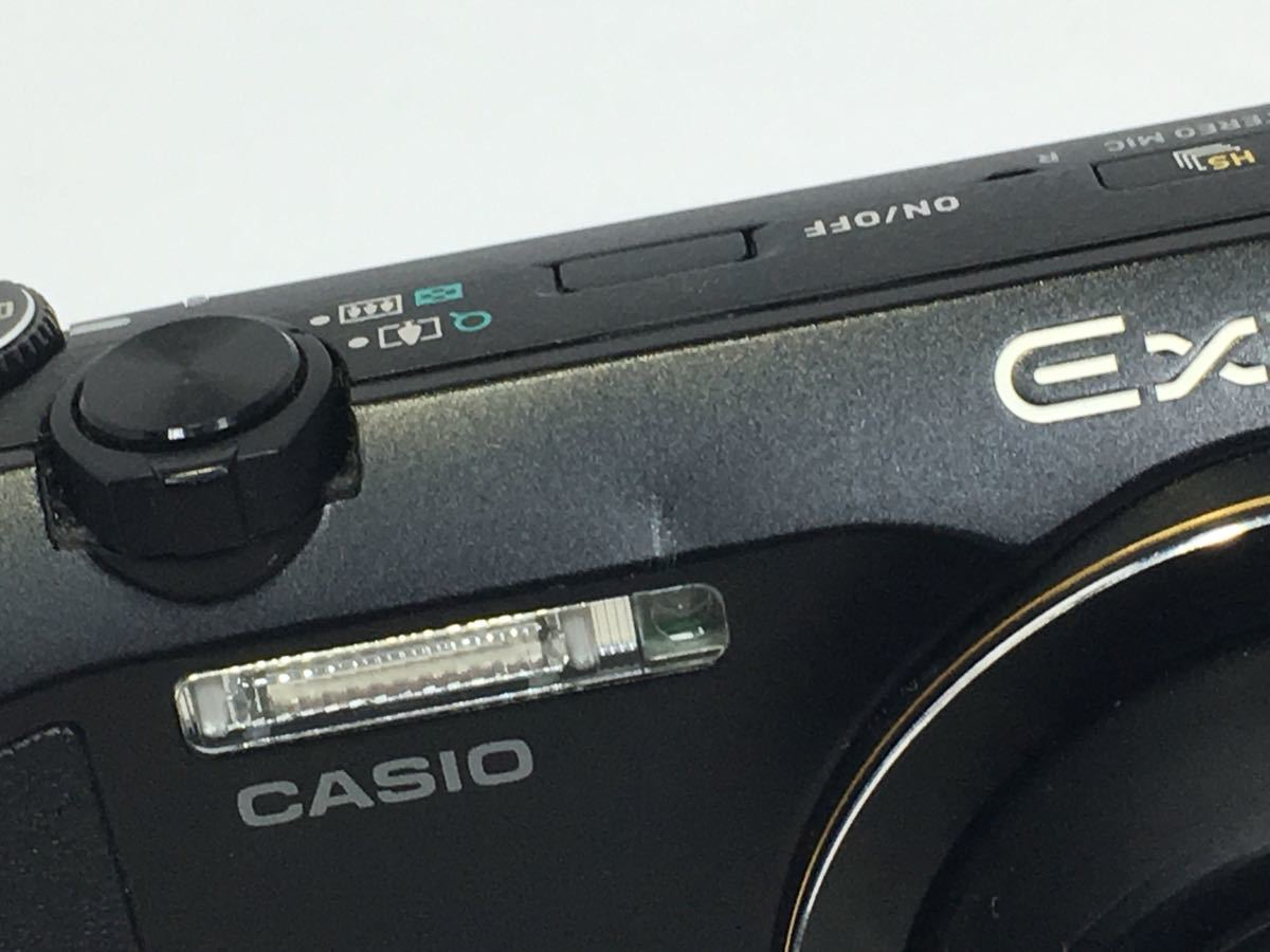 #R-9☆動作品☆CASIO カシオ デジタルカメラ EXILIM EX-ZR200 カメラ本体+バッテリー_画像3