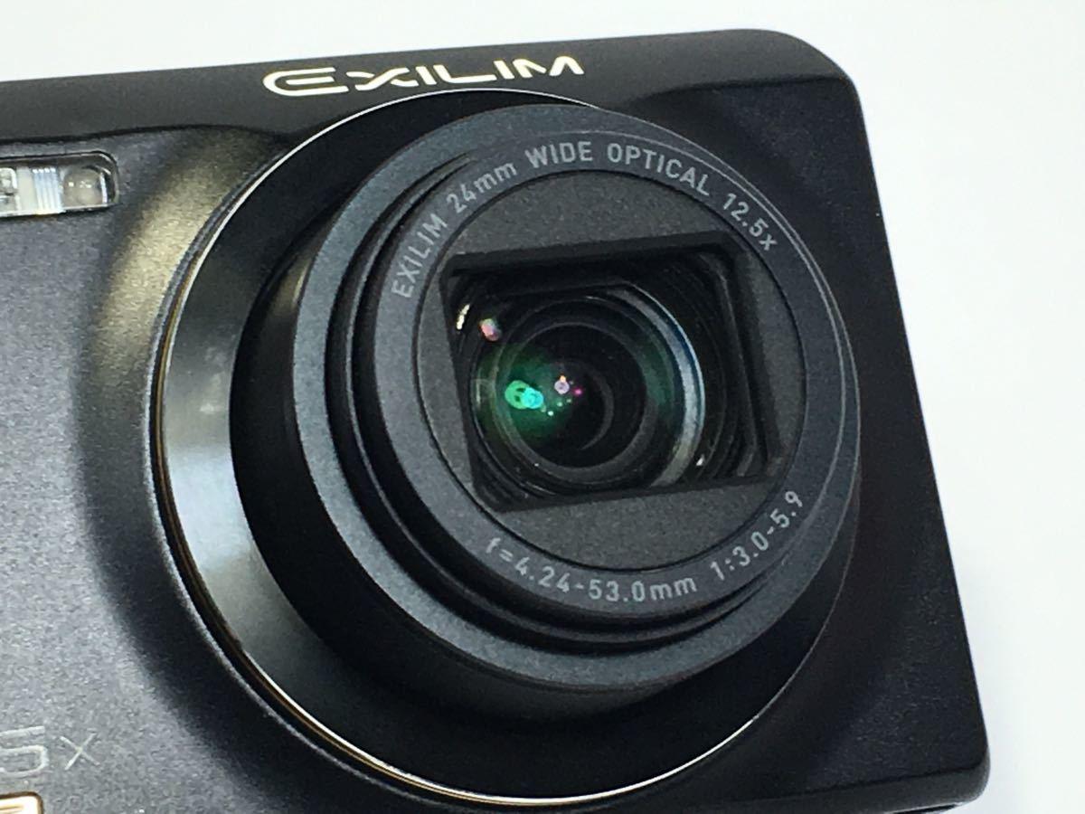 #R-9☆動作品☆CASIO カシオ デジタルカメラ EXILIM EX-ZR200 カメラ本体+バッテリー_画像4