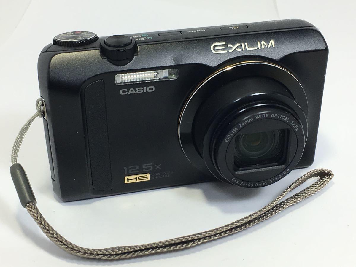 #R-9☆動作品☆CASIO カシオ デジタルカメラ EXILIM EX-ZR200 カメラ本体+バッテリー
