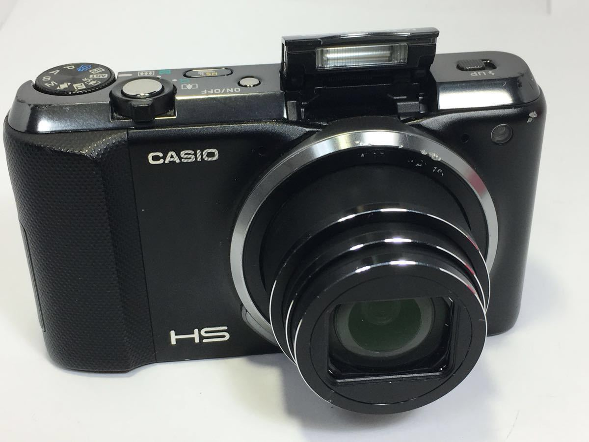 #R-16☆動作品☆CASIO カシオ デジタルカメラ EXILIM EX-ZR800 ブラック カメラ本体+バッテリー2個