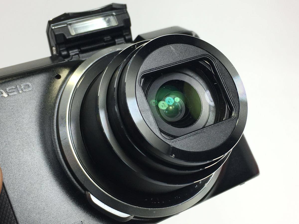 #R-16☆動作品☆CASIO カシオ デジタルカメラ EXILIM EX-ZR800 ブラック カメラ本体+バッテリー2個_画像2