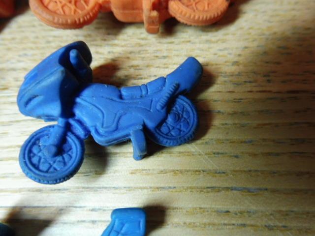 当時物 仮面ライダー 消しゴム 他 まとめて フィギュア バイク サイクロン号 駄玩具 大量セット 昭和レトロ _画像5
