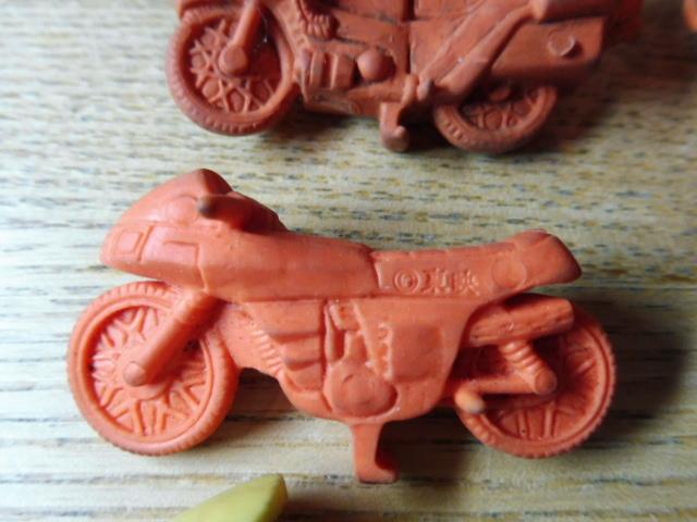 当時物 仮面ライダー 消しゴム 他 まとめて フィギュア バイク サイクロン号 駄玩具 大量セット 昭和レトロ _画像4