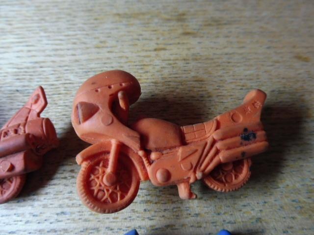 当時物 仮面ライダー 消しゴム 他 まとめて フィギュア バイク サイクロン号 駄玩具 大量セット 昭和レトロ _画像3