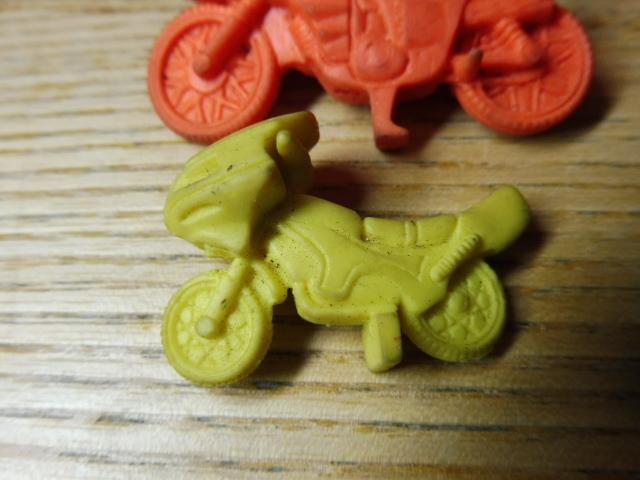 当時物 仮面ライダー 消しゴム 他 まとめて フィギュア バイク サイクロン号 駄玩具 大量セット 昭和レトロ _画像6
