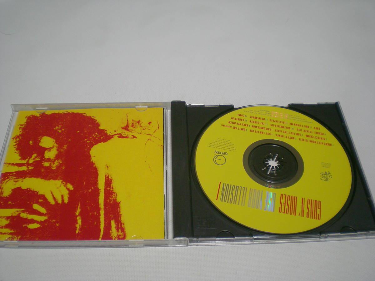 6504 『CD』 ガンズ・アンド・ローゼズ / USE YOUR ILLUSION 1  輸入盤_画像2