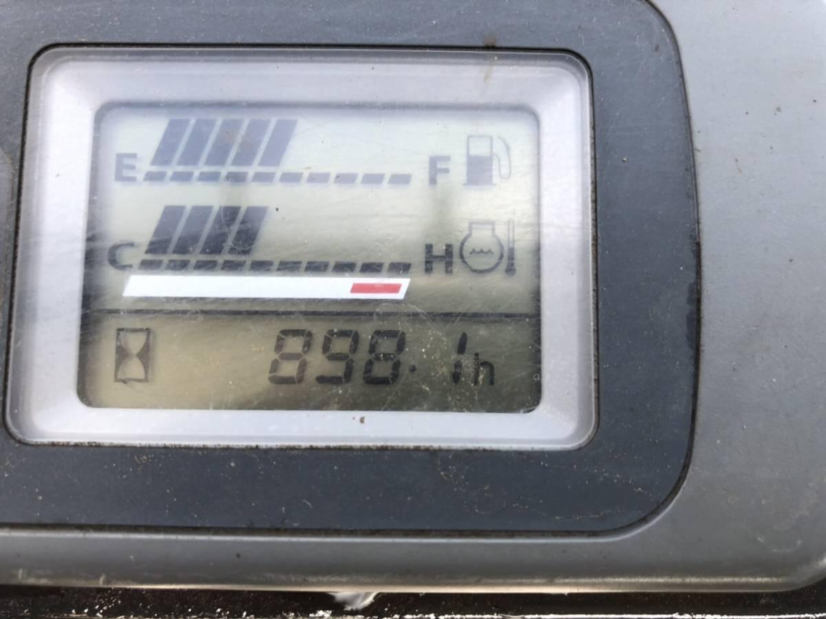 ユンボ 日立 EX20UU-3 2t クラス,倍速 、時間 898h  ★千葉発 下取り可能です _画像8