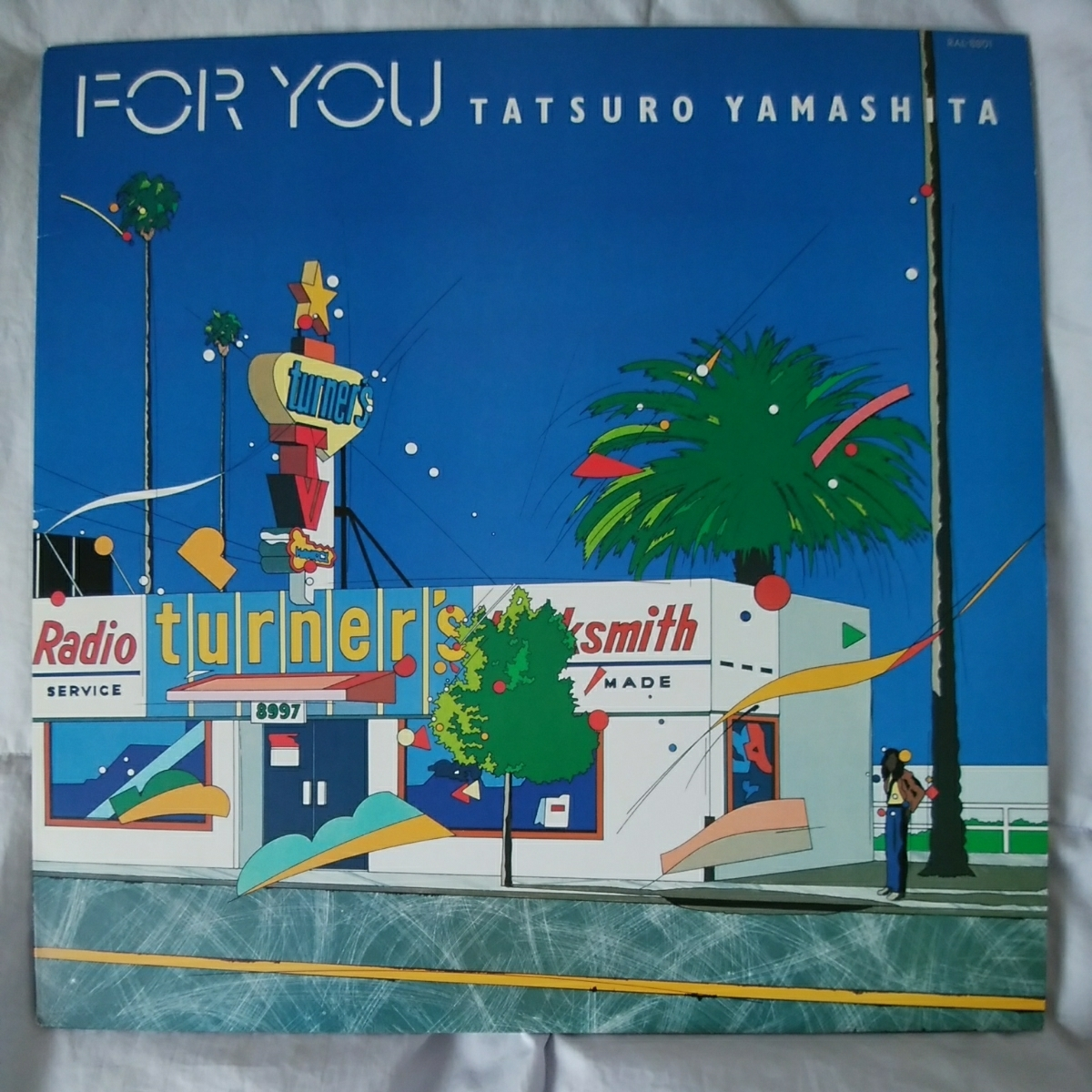 【2枚セット】山下達郎 ♪♪ FOR YOU / MELODIES LPレコード_画像2