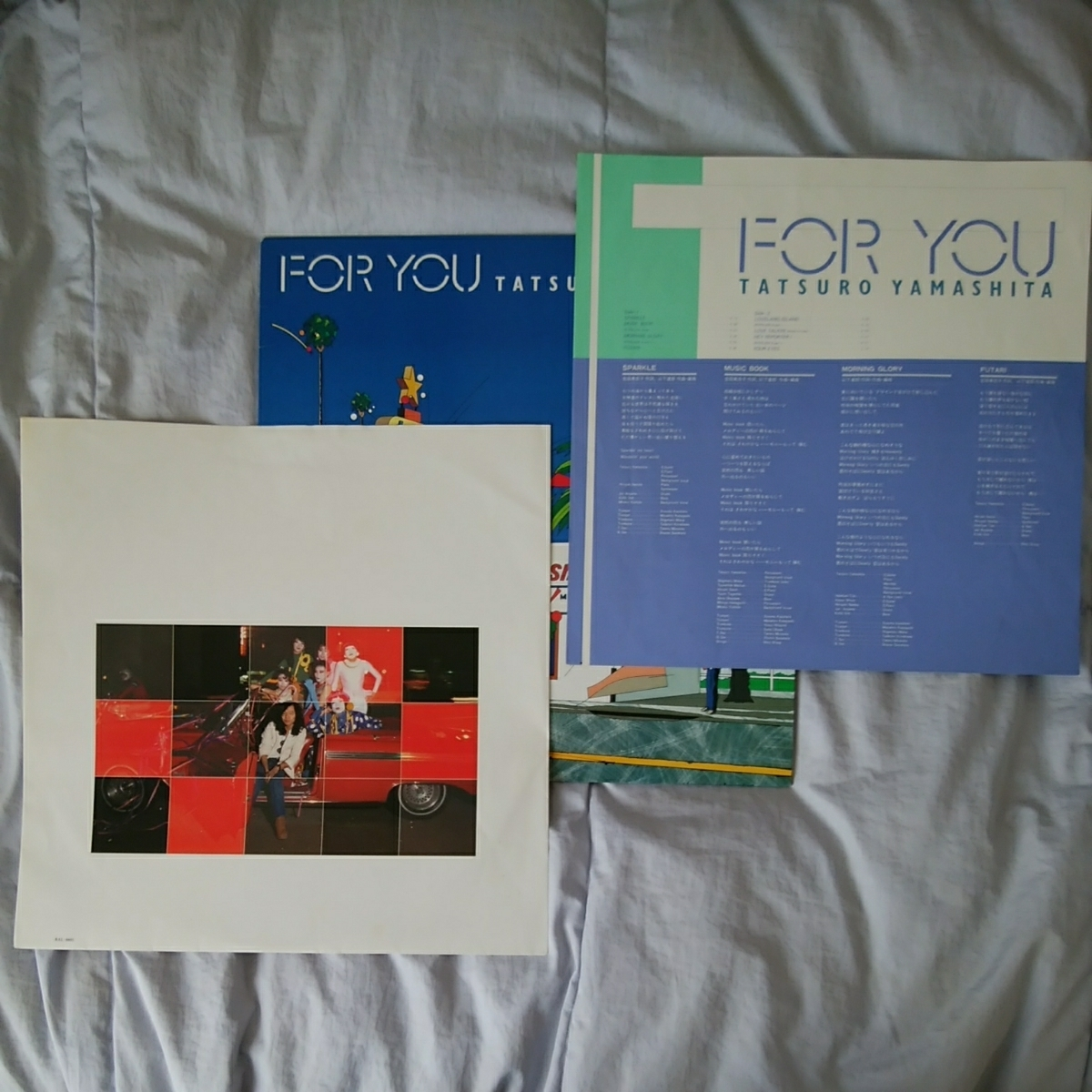 【2枚セット】山下達郎 ♪♪ FOR YOU / MELODIES LPレコード_画像4