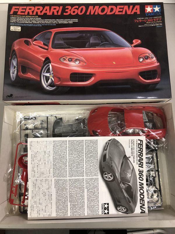 【自動車】PHANTOM ベンツSSK フェラーリ360MODENA 他 プラモデル レジン ガレキ 9点セット まとめて販売_画像2