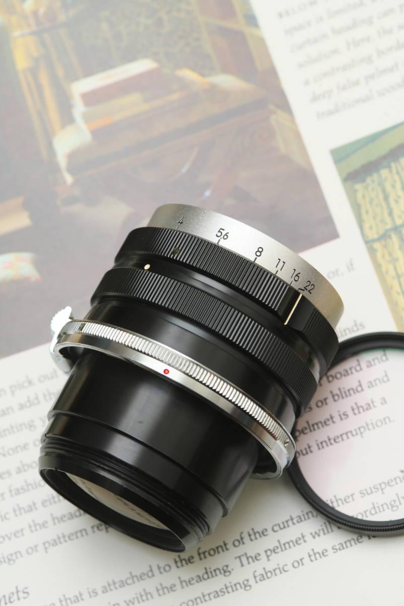超美品 産業用ニッコール NIKKOR-Q 135mm f4 ベローズ付き_画像4
