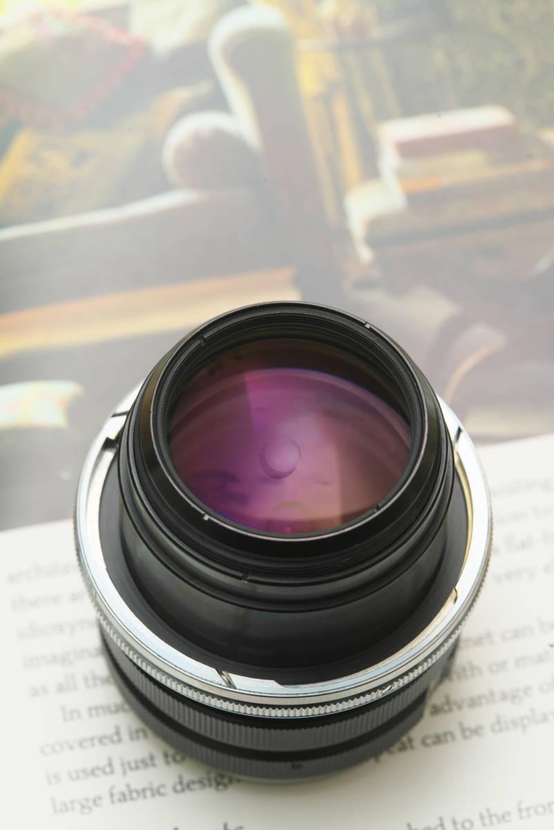 超美品 産業用ニッコール NIKKOR-Q 135mm f4 ベローズ付き_画像5