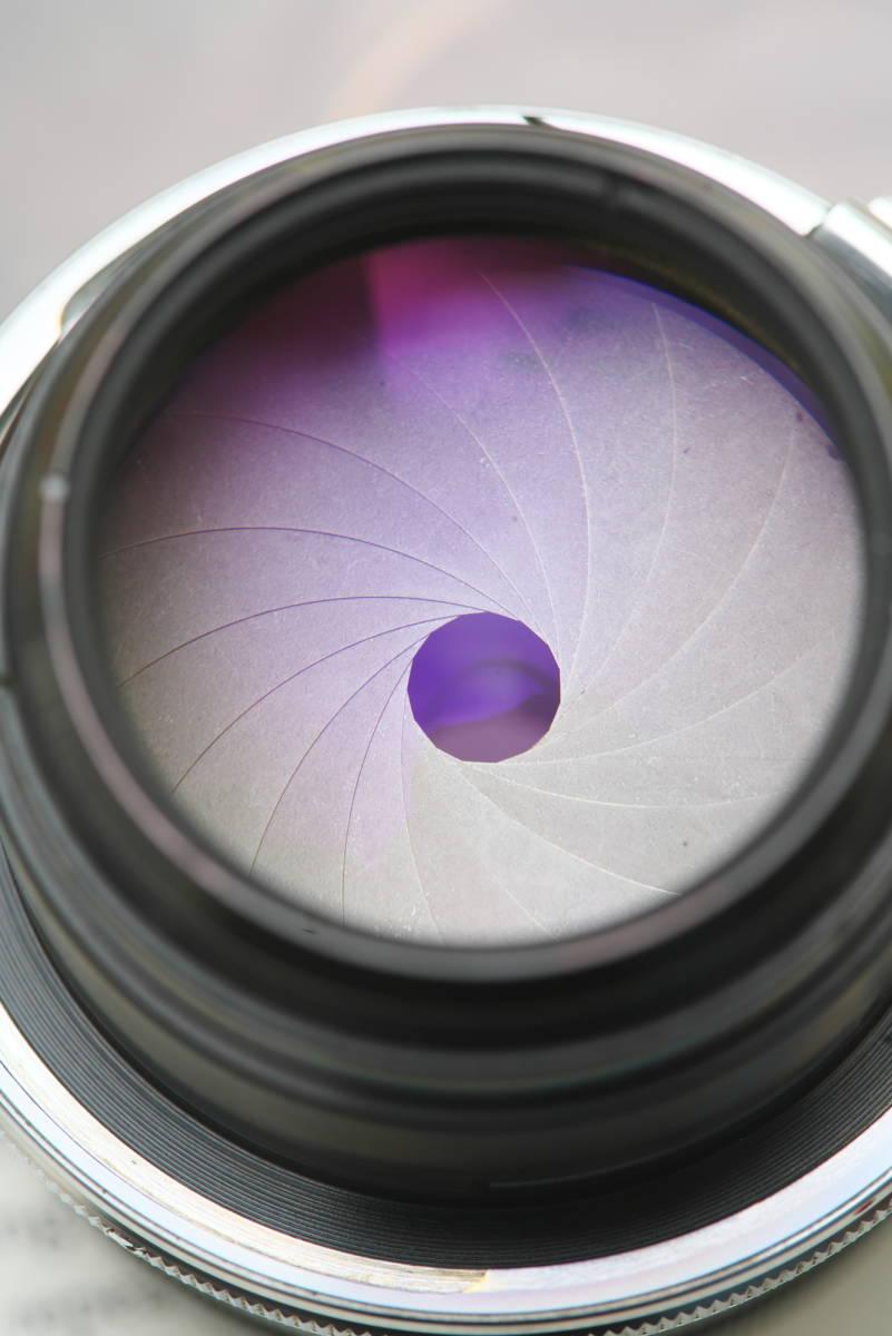 超美品 産業用ニッコール NIKKOR-Q 135mm f4 ベローズ付き_画像7