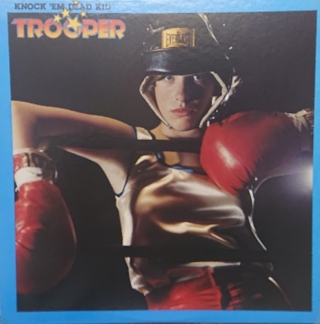 ☆TROOPER/KNOCK'EM DEAD KID'1977国内盤 EPIC_画像1