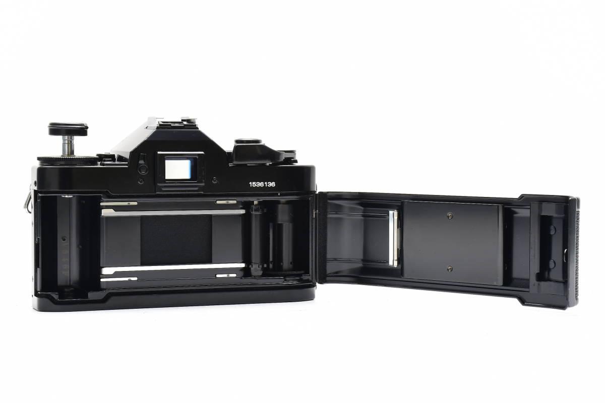 AM1017 ◆ Canon キヤノン A-1 + New FD 50mm F1.8 MF一眼レフ 標準レンズ FDマウント_画像8