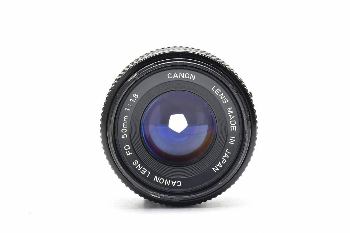 AM1017 ◆ Canon キヤノン A-1 + New FD 50mm F1.8 MF一眼レフ 標準レンズ FDマウント_画像9