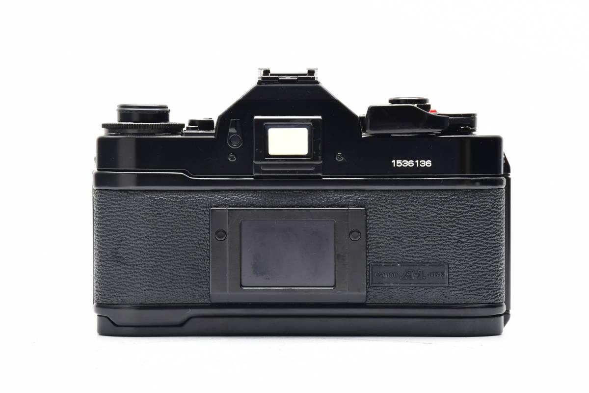 AM1017 ◆ Canon キヤノン A-1 + New FD 50mm F1.8 MF一眼レフ 標準レンズ FDマウント_画像2