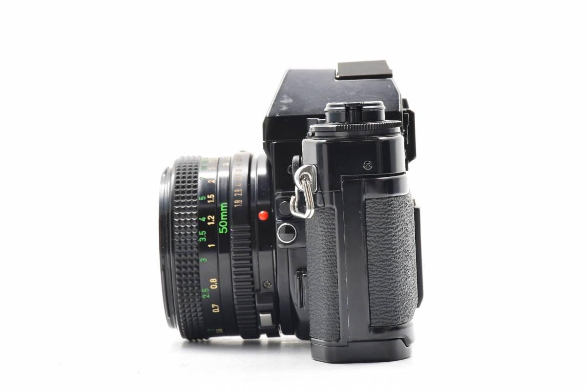 AM1017 ◆ Canon キヤノン A-1 + New FD 50mm F1.8 MF一眼レフ 標準レンズ FDマウント_画像5