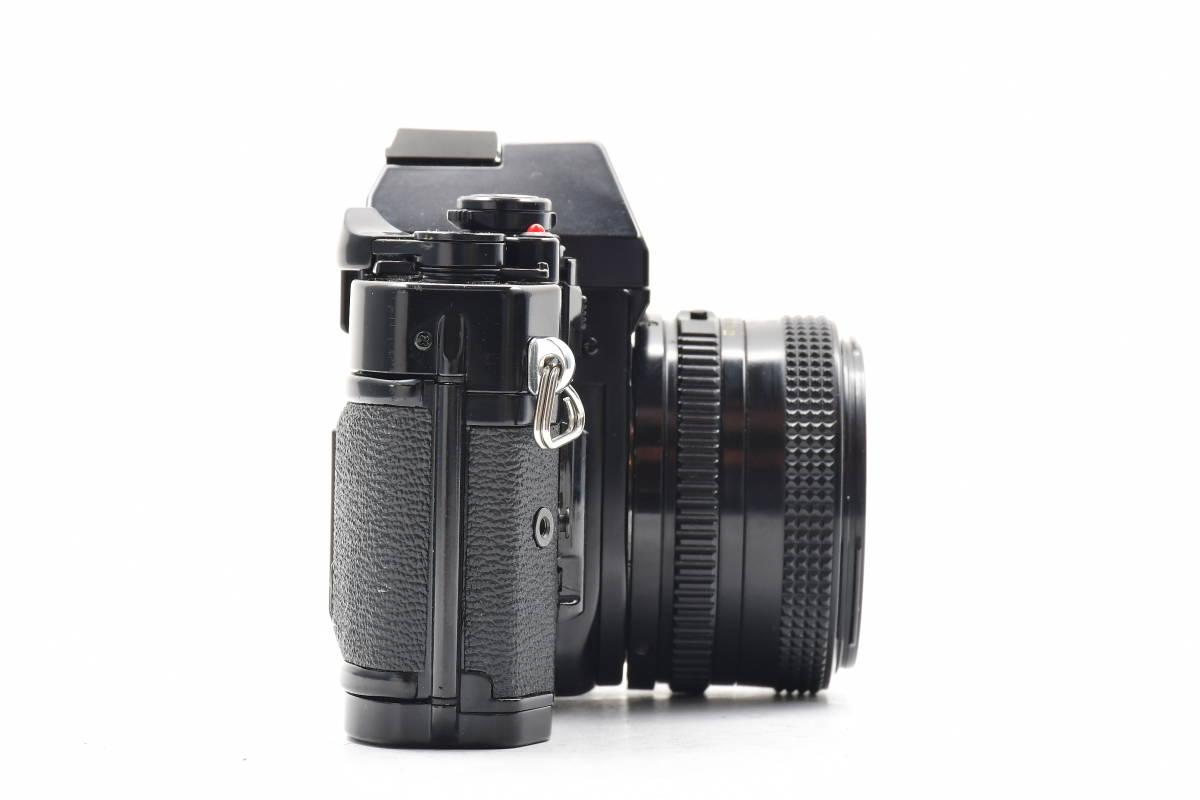 AM1017 ◆ Canon キヤノン A-1 + New FD 50mm F1.8 MF一眼レフ 標準レンズ FDマウント_画像6