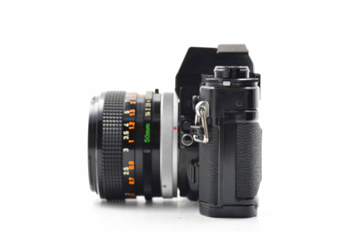 AA90 ◆ Canon キヤノン A-1 + FD 50mm F1.4 S.S.C MF一眼レフカメラ 標準レンズ FDマウント_画像5