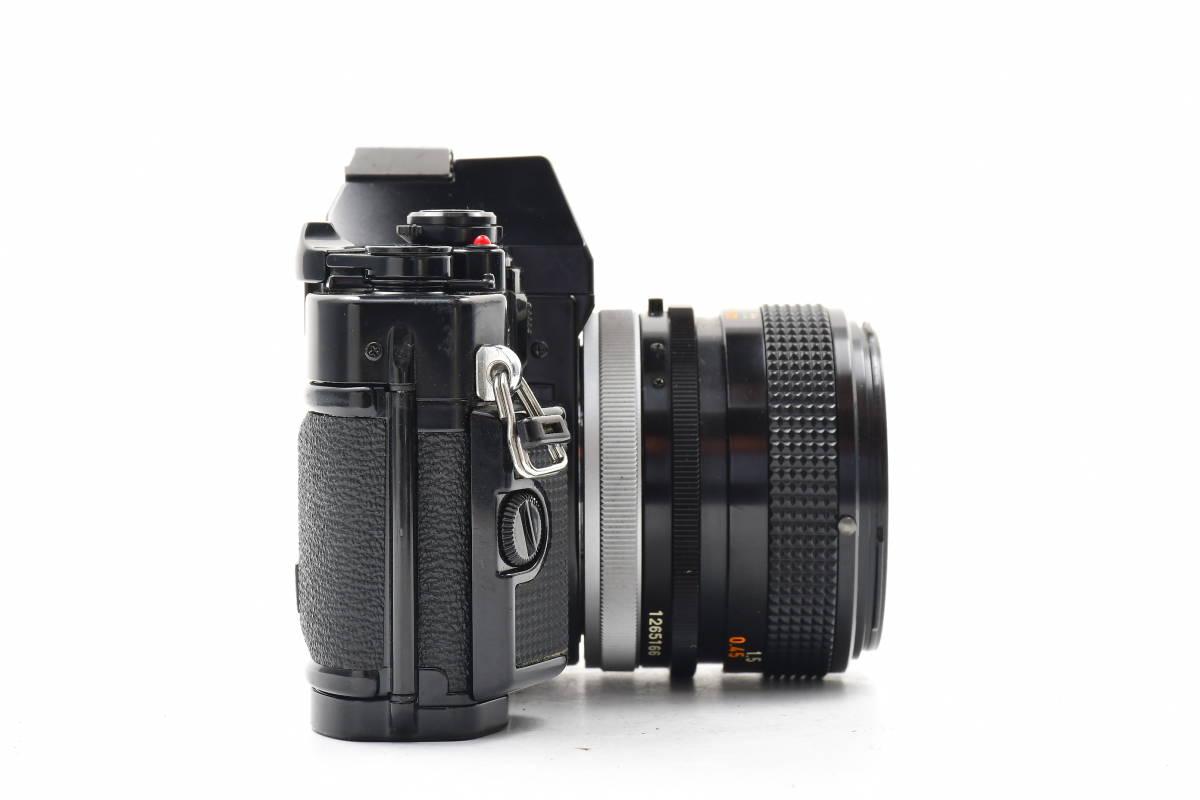 AA90 ◆ Canon キヤノン A-1 + FD 50mm F1.4 S.S.C MF一眼レフカメラ 標準レンズ FDマウント_画像6