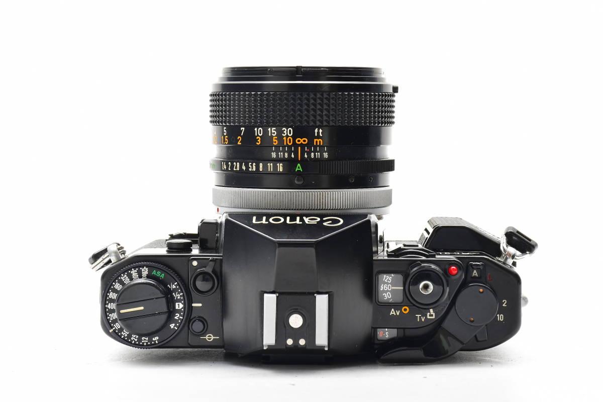 AA90 ◆ Canon キヤノン A-1 + FD 50mm F1.4 S.S.C MF一眼レフカメラ 標準レンズ FDマウント_画像3
