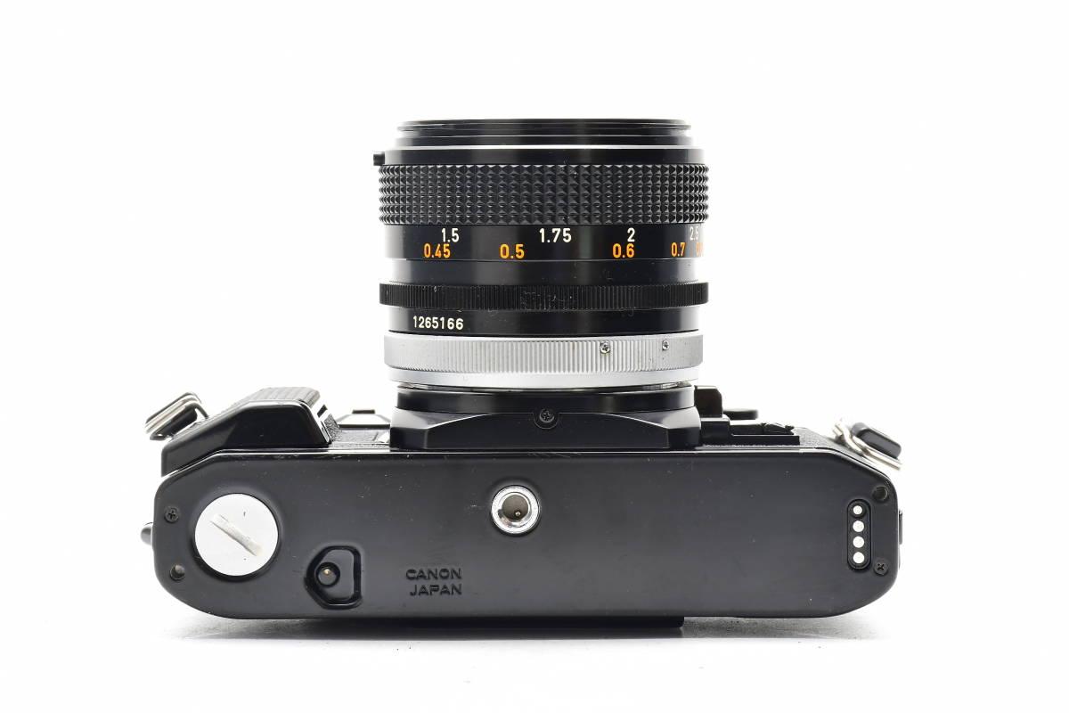 AA90 ◆ Canon キヤノン A-1 + FD 50mm F1.4 S.S.C MF一眼レフカメラ 標準レンズ FDマウント_画像4