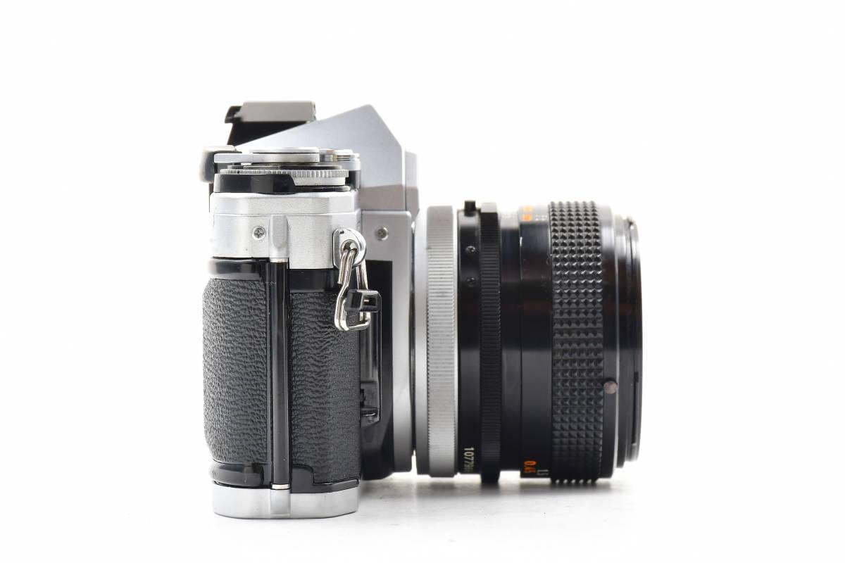 AA116 ◆ Canon キヤノン AE-1 + FD 50mm F1.4 S.S.C MF一眼レフカメラ 標準レンズ FDマウント_画像6