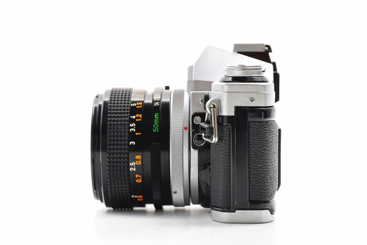 AA116 ◆ Canon キヤノン AE-1 + FD 50mm F1.4 S.S.C MF一眼レフカメラ 標準レンズ FDマウント_画像5