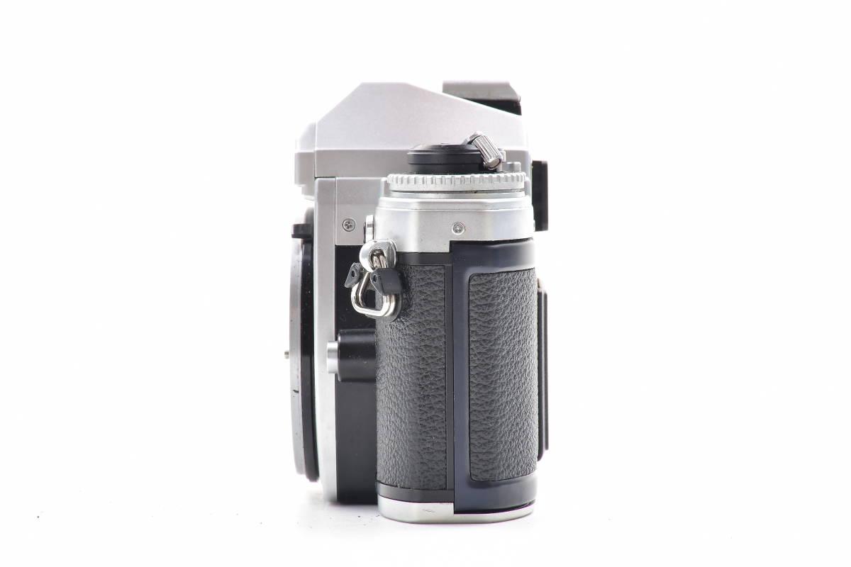 AA474 ◆ Nikon ニコン FG シルバーボディ MF一眼レフ フイルムカメラ_画像5