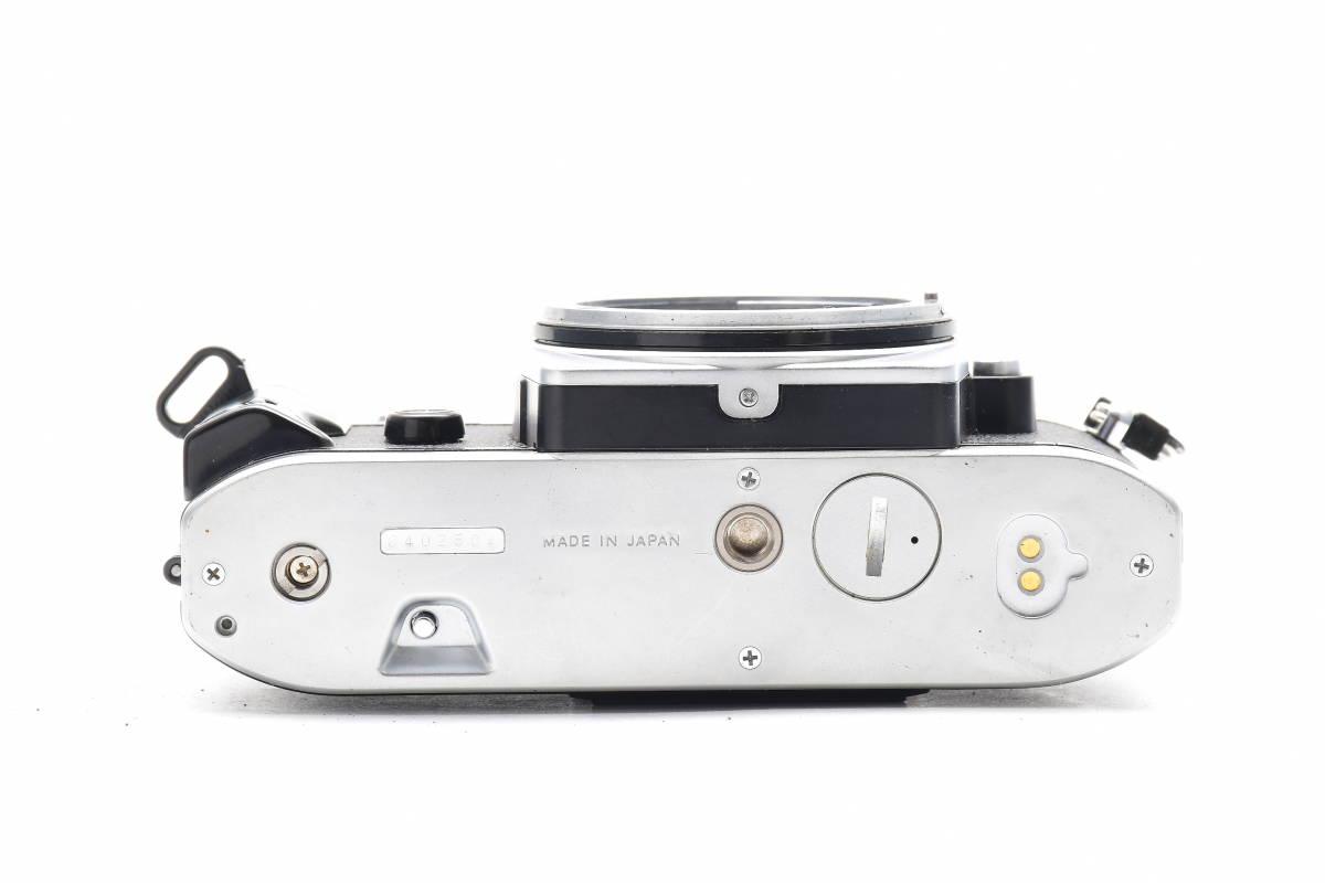 AA474 ◆ Nikon ニコン FG シルバーボディ MF一眼レフ フイルムカメラ_画像4