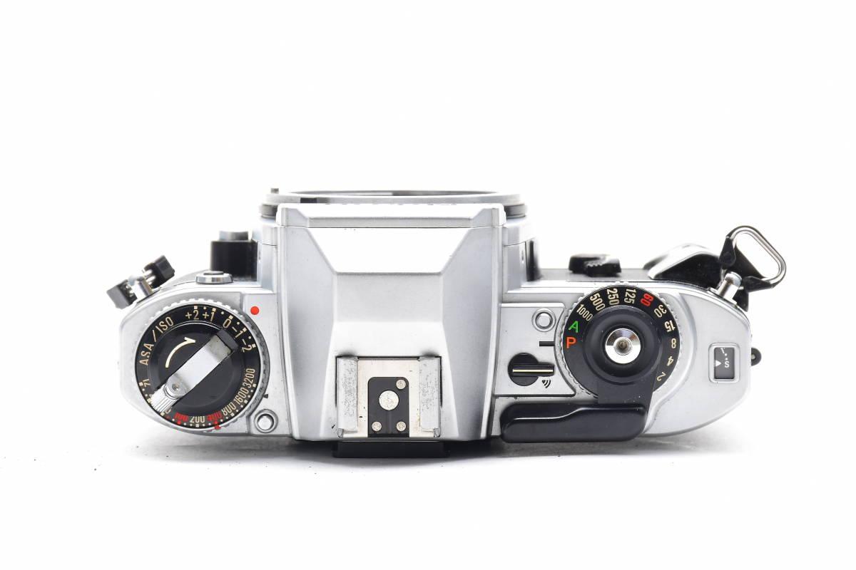 AA474 ◆ Nikon ニコン FG シルバーボディ MF一眼レフ フイルムカメラ_画像3