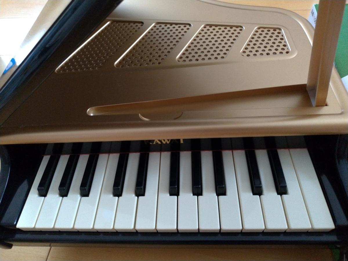 【中古】KAWAI カワイ ミニグランドピアノ  (黒)_画像5