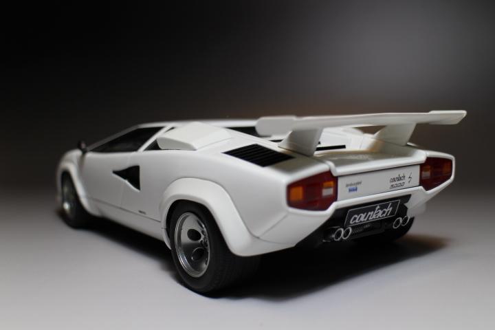 オートアート 『 ランボルギーニ カウンタック 5000S 』1/18 AUTOart Lamborghini COUNTACH_画像6
