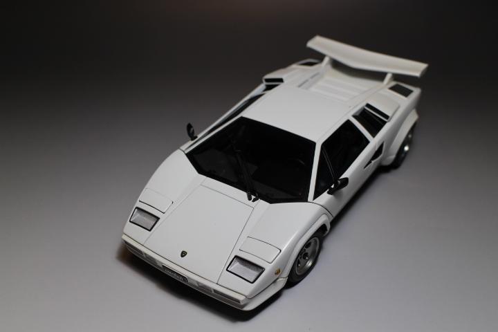 オートアート 『 ランボルギーニ カウンタック 5000S 』1/18 AUTOart Lamborghini COUNTACH_画像8
