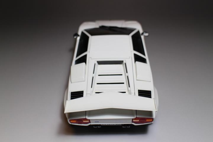 オートアート 『 ランボルギーニ カウンタック 5000S 』1/18 AUTOart Lamborghini COUNTACH_画像7