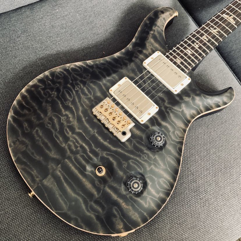 Paul Reed Smith (PRS) Custom 24 10 Top 2016 Limited Satin Gray Black_画像1