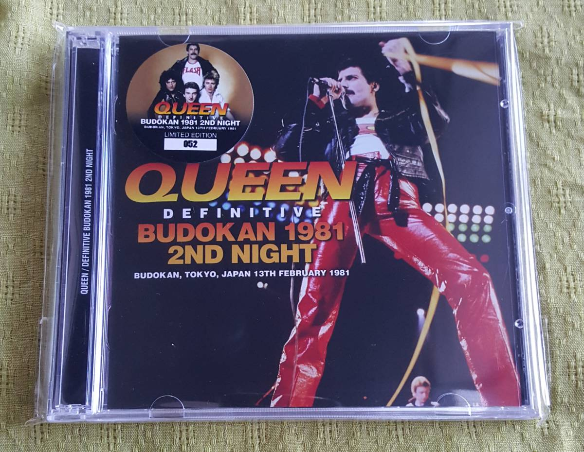 QUEEN / DEFINITIVE BUDOKAN 1981 2ND NIGHT (2CD)