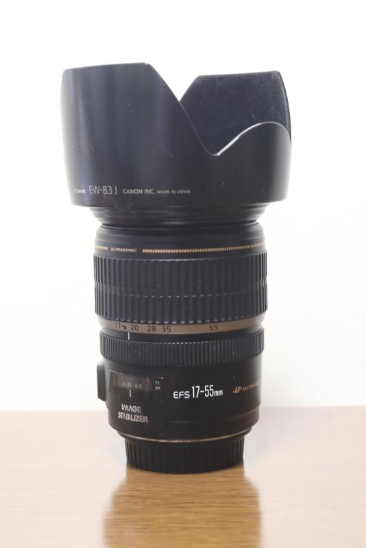 CANON EFS17-55mm 1:2.8 IS USM + Kenko PRO1D PROTECTOR(W) + フードEW-83
