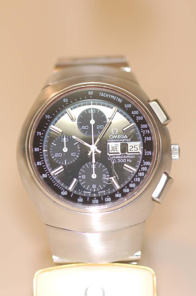 ●値下げ オメガ Speedsonic スピードソニック 音叉時計 スピードマスター_画像3