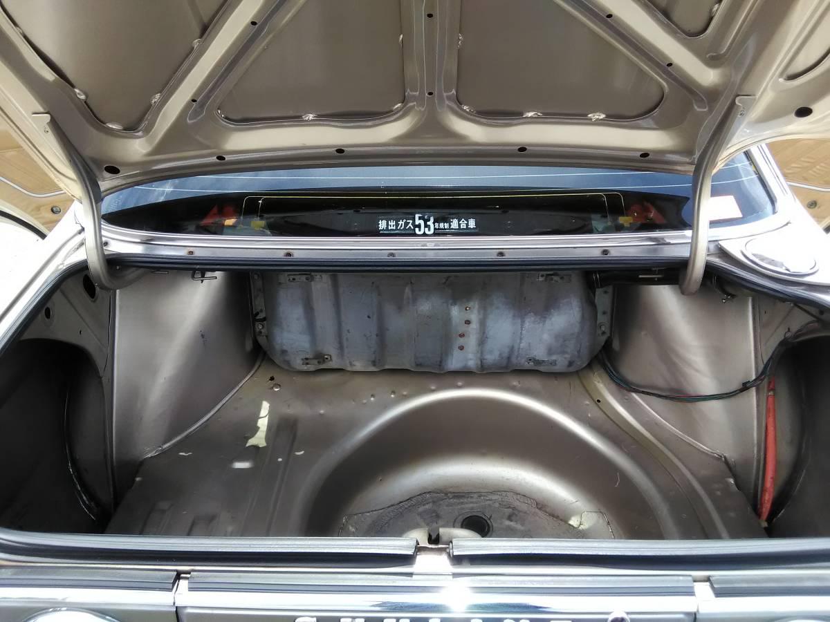 スカイラインジャパン 本物前期 L20改2.4L エアコン 本物シャドー14インチ 車検1年半 DR30ディスク/キャリパー DR30純正LSD GC210 GC211_画像6