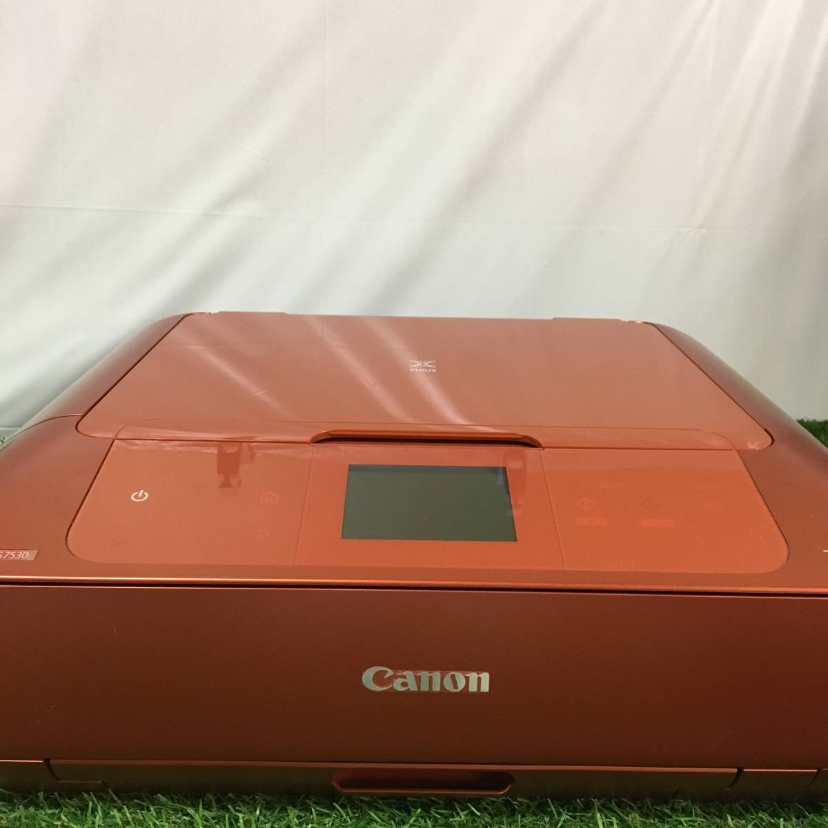 Canon キャノン PIXUS ピクサス インクジェット プリンタ MG7530 オレンジ テスト用紙付 動作確認済