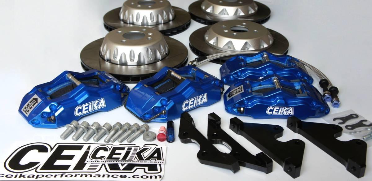 CEIKA ブレーキキット スバル SUBARU XV R2 DEX SVX R1 S4 ブレーキセット ボルトオン カスタム パーツ 新品 キャリパーセット セイカ_画像2