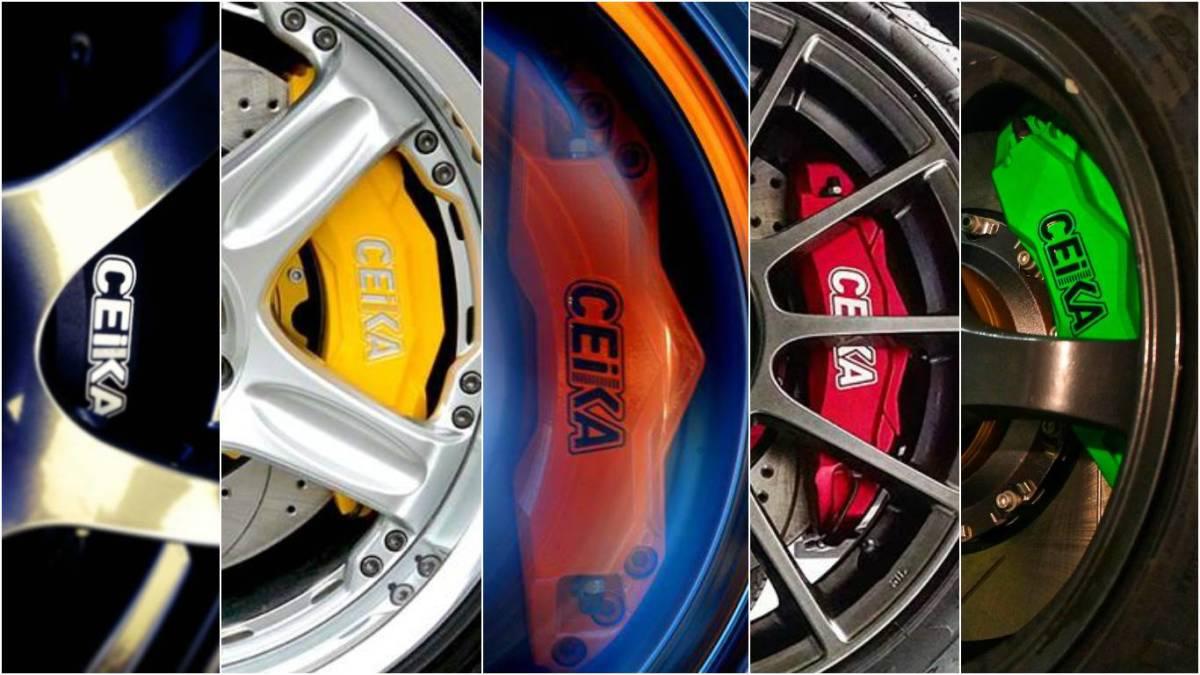 CEIKA ブレーキキット スバル SUBARU XV R2 DEX SVX R1 S4 ブレーキセット ボルトオン カスタム パーツ 新品 キャリパーセット セイカ_画像5